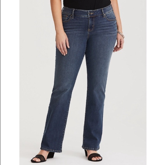 1170c523898 RELAXED BOOT JEAN - MEDIUM WASH. NWT. torrid.  48  65. Size. 14